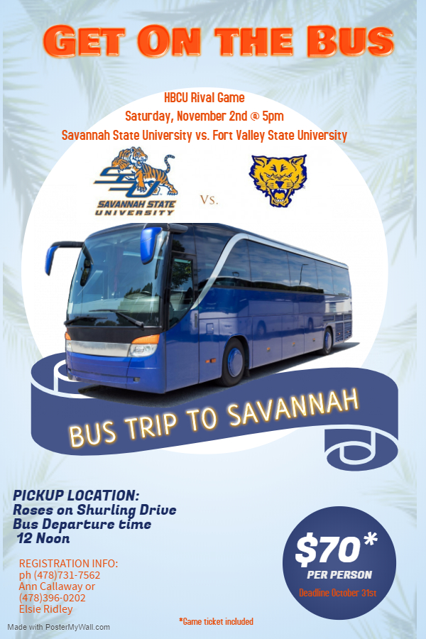 Metro-Macon Bus Trip Flyer