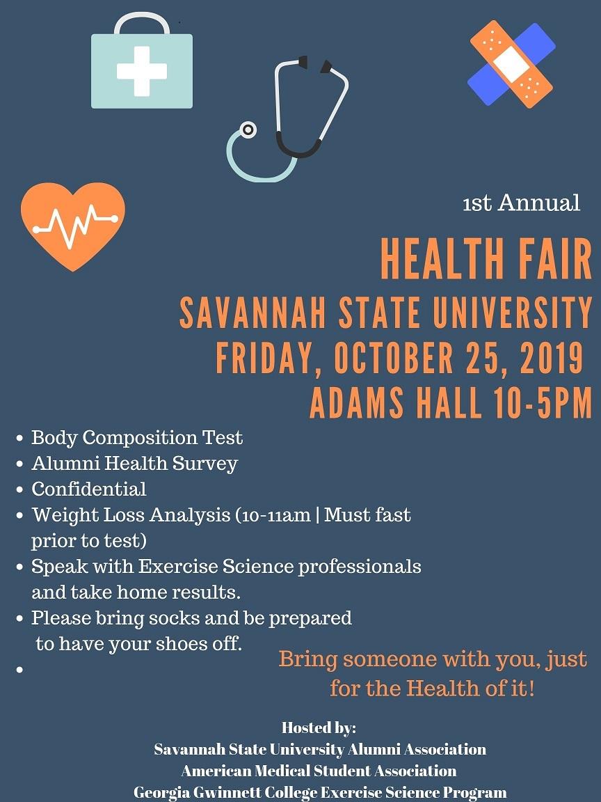 SSU Health Fair